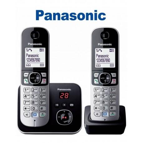 TELEPHONE SANS FIL PANASONIC KX TG 6822 FRB